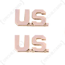 US Army Officer us MONOGRAM BADGES American Military WW2 Repro Collar Insignia