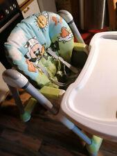 kinderhochstuhl mit tisch von peg perego