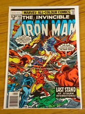 IRONMAN #106 VOL1 MARVEL COMICS JACK OF HEARTS APPS JANUARY 1978