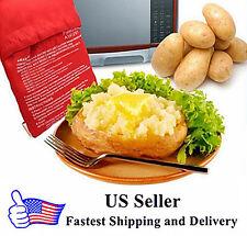 2-pcs Potato Express Microwave Cooker Bag ** 4 Minutes Fast Reusable Washable