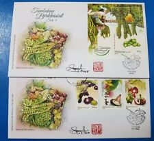 Autograph Medicinal Plants Series 4 concordant Malaysia FDC First Day Cover 2018