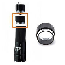 CycleV#arch Front Flashlight Aluminum Alloy Extender Tube For 18650 BatteryV#a