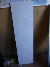 "1/2"" WHITE POLYPROPYLENE STOCK SOLID SHEET PLASTIC 48-1/2"" X 13"""