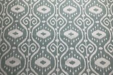 MAGNOLIA HOME BALI YACHT IKAT BLUE COTTON UPHOLSTERY FABRIC $7.50//YD BTY 74FE