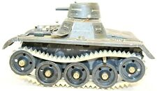 VINTAGE US-ZONE GERMAN GAMA #65 DUAL TURRET CLOCKWORK TANK