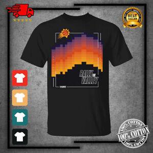 Phoenix Suns2021 Basketball Playoffs Rally The Valley Black T-Shirt S-4XL