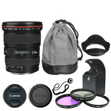 Canon EF 17-40mm f/4L USM Lens + Deluxe Accessory Kit