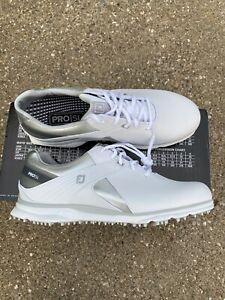 FootJoy Pro SL Golf Shoe Women's Size 10 Wide White/silver/gray 98114