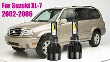 LED For Suzuki XL-7 2002-2006 Headlight Kit H4/9003 6000K CREE Bulbs HI/Low Beam