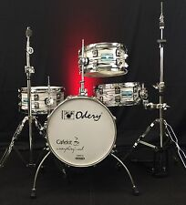 Odery Drums Cafe Kit Polar Tiger With Hardware!