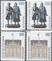 BRD (BR.Deutschland) 1934C,D,1935C,D (kompl.Ausg.) postfrisch 1997 Sehenswürdigk