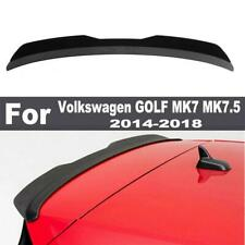 Black Rear Roof Spoiler Wing For Volkswagen VW Golf7 MK7 MK7.5 GTI/R 2014-2018