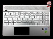 HP Pavilion 15-CS 15-CW Palmrest w/ Non-Backlit Keyboard L24753-001 Silver