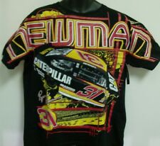 Ryan Newman Caterpillar Cat Chase All Over Print T-Shirt  Large Free Ship # 31