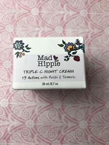 Mad Hippie Triple C Night Cream Travel Size- 0.7 Ounces expires 5/2023