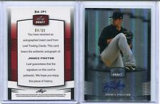 2012 JAMES PAXTON Leaf Draft HANDS-ON Autograph Signature MARINERS ROOKIE #D/99