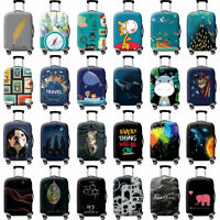 18-32 Inches Travel Luggage Cover Protector Elastic Suitcase Dustproof Bag Cover
