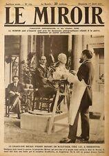 KNEBSHOUSE (GB) LE GRAND-DUC MICHEL & SCULPTEUR SOUDBININE / ILLUSTRATION 1917
