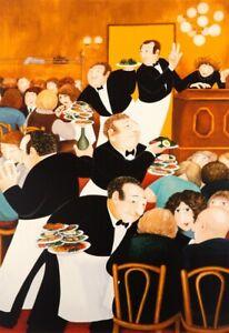 """""""Chartiers"""" Beryl Cook Silkscreen L/ E  Print"""