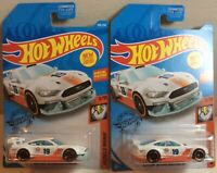 2019 hot wheels custom '18 ford mustang gt lot of 2 mustang diecast w/special