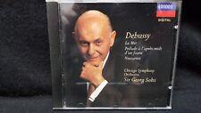 Debussy-Chicago Symphony Orchestra La Mer/Nocturnes (CD, 1992, London)