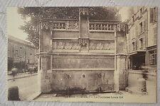 """CPA """" BLOIS - La Fontaine Louis XII"""