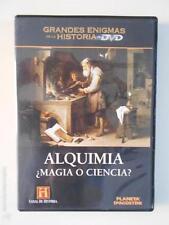 DVD ALQUIMIA ¿MAGIA O CIENCIA? - GRANDES ENIGMAS DE LA HISTORIA (6F)