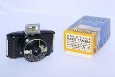 Kodak Bullet 1939 New York World's Fair souvenir camera. Art Deco. With BOX!