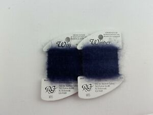 Rainbow Gallery Whisper Thread W95 Navy Blue Thread Lot Of 2 Thread