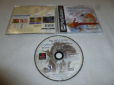 RARE RPG GAME FINAL FANTASY ORIGINS VIDEO GAME SQUARESOFT II FF2 ROLE PLAYING >>
