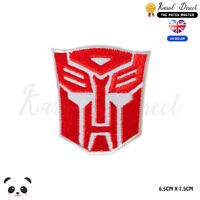 Transformer Super Hero Movie Embroidered Iron On Sew On PatchBadge
