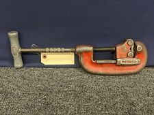"Ridgid Pipe Cutter No 2 Heavy Duty 1/8 To 2"" Vintage Tool USA Cut Plumbing Used"