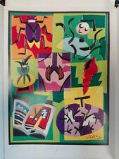 Serigrafia di Ugo Nespolo 022/550 cm 34x48 Antikidea