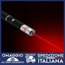 Laser Puntatore Rosso Professionale 5mw militare Alta Qualita' rosso 2019
