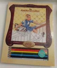 AMERICAN GIRL KIT ART STUDIO SET & FRIENDSHIP FUN CRAFT BOOK - NEW - FREE SHIP