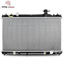 YITAMOTOR 2437 Radiator for 2002-2008 Toyota Camry Solara 4CYL 2.4L