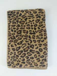 Pottery Barn Leopard Print Hand Towels Cheetah Animal Vintage Discontinued NICE