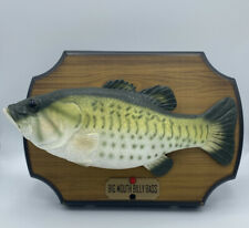 Big Mouth Billy Bass Singing Take Me To The River, Don't Worry 1999 Gemmy