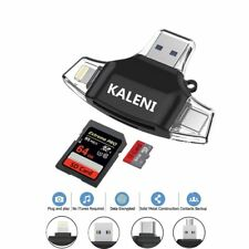 SD Card Reader, USB 3.0 Card Reader Compatible with iPhone