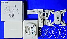 Yuneec Breeze 4K Camera Drone Bluetooth Controlled White Complete in Box