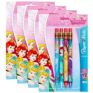 Paper Mate Mates Disney Princesses Mechanical Pencils, 4-Pack of 4 = 16 Pencils
