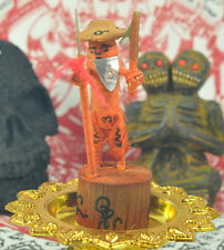 HOON PAYON Magic Armor Voodoo Doll Protection Thai Amulet Haunted Effigy Robot