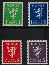 Noorwegen Norge postfris Mi 207 - 210 , F 251 -254 (N100)