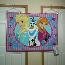 Disney Frozen Accent Area Rug Olaf Elsa Anna 39 x 54 Skid Resistant New