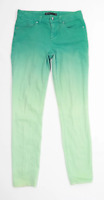 Womens Karen Millen Green Denim Jeans Size 8/L29