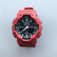 Casio G-Shock GA100B-4A Black Quartz Analog Digital Men's Watch