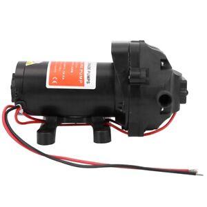 12 Volt 5.5 GPM Diaphragm Water Pump 60 psi Lawn Sprayers for Marine, Caravans