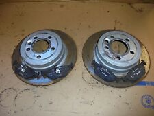 ROVER 75 MG ZT 2004 2.0 CDTI DIESEL PAIR OF REAR VENTED BRAKE DISCS WITH PADS
