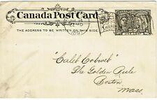 Canada 1897 Montreal Bickerdike machine flag cancel on cover Used Jul 10-15