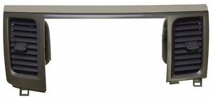 2013-14 Toyota Sienna Radio Bezel Trim W/Vents Tan New W/O Nav OEM 5540508011E0
